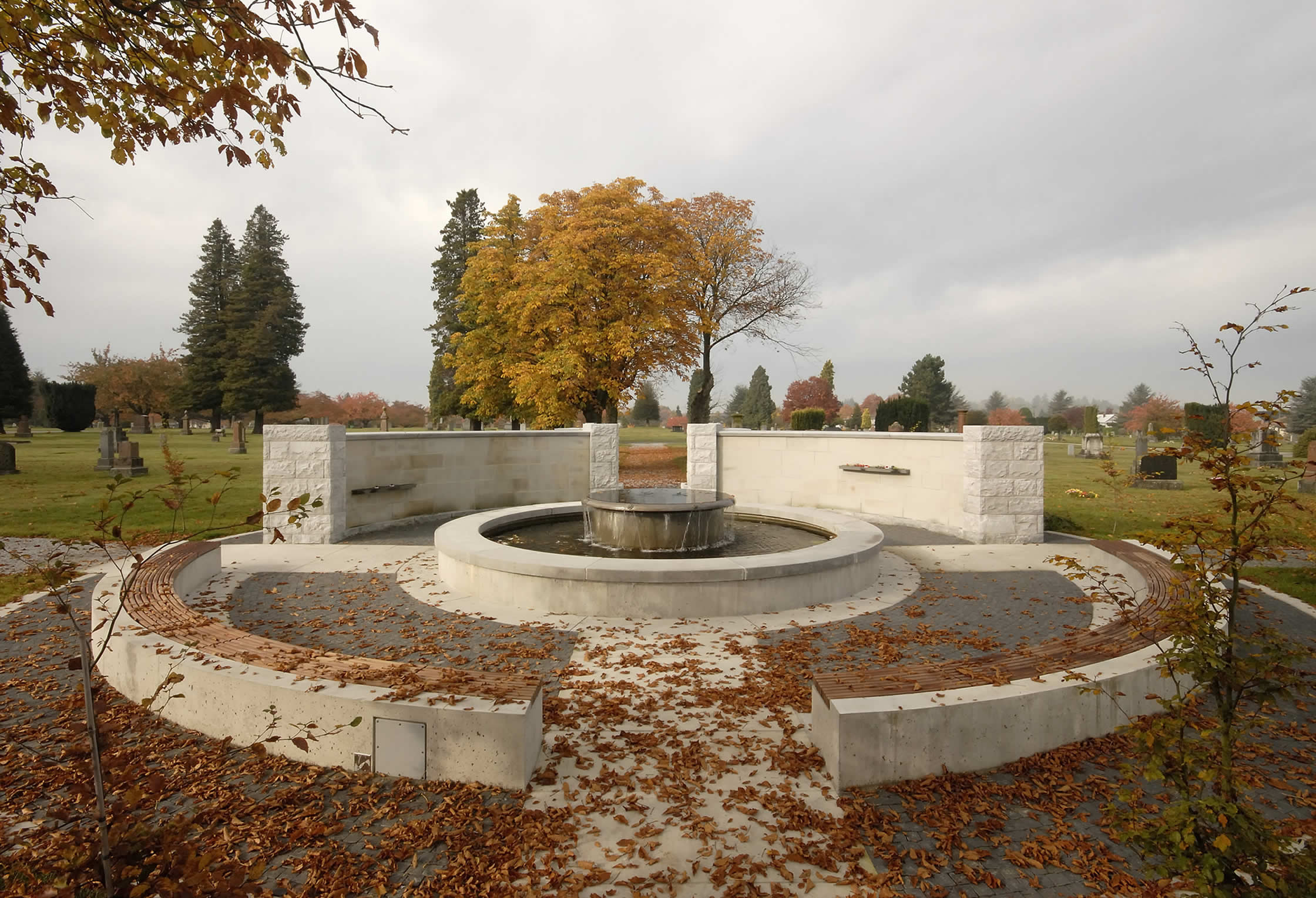 Mountain View Cemetery - LEES+Associates Landscape Architects