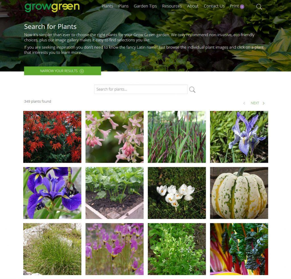 Grow Green Plant Guide screenshot