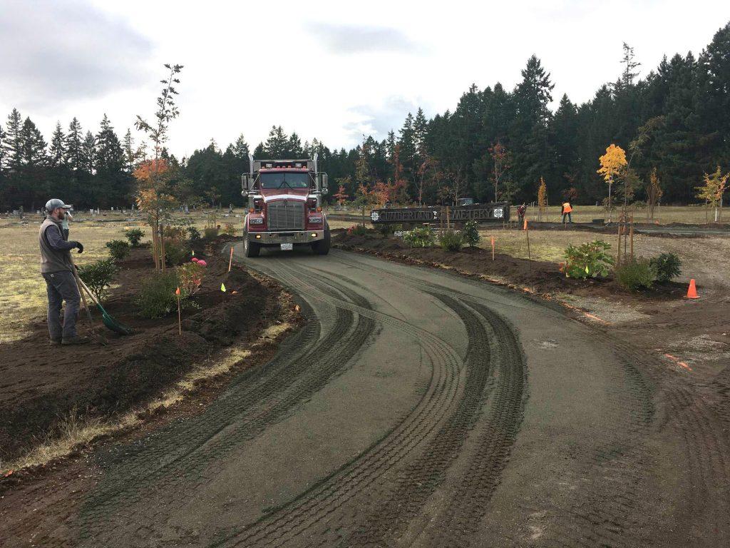 Cumberland Cemetery Improvements