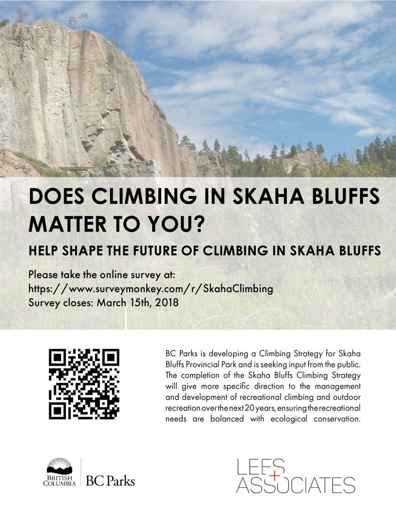 Skaha Bluff Survey Poster
