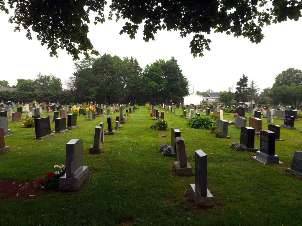 Charlottetown Diocese Cemetery Master Plan