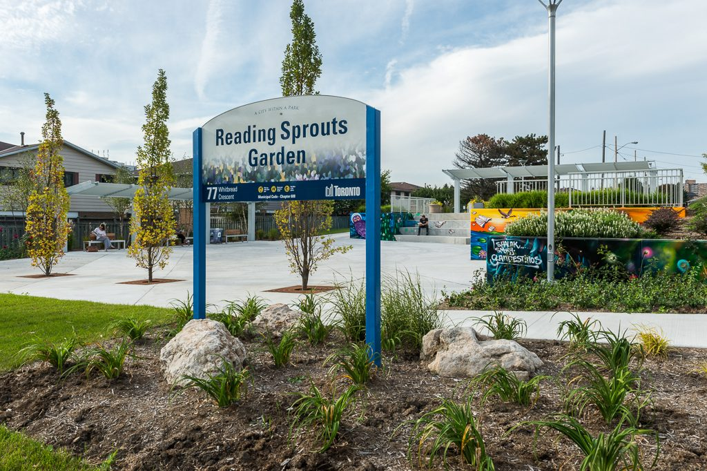 READING SPROUTS GARDEN
