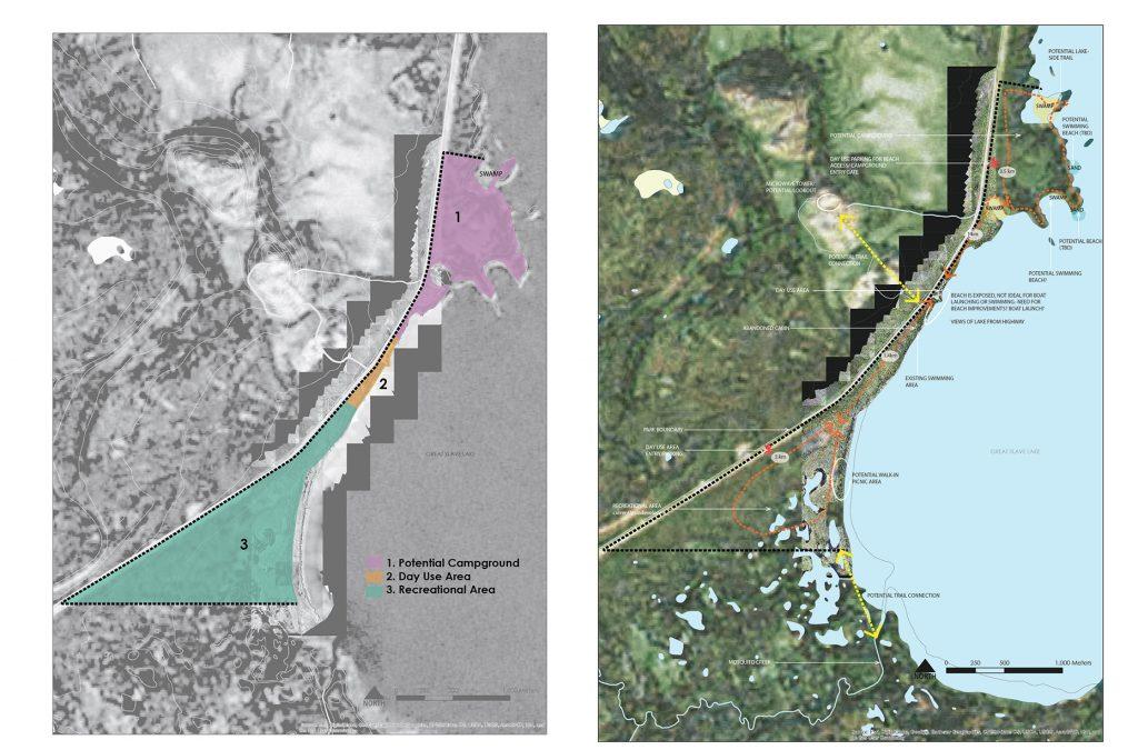 North Arm Territorial Park Conceptual Design