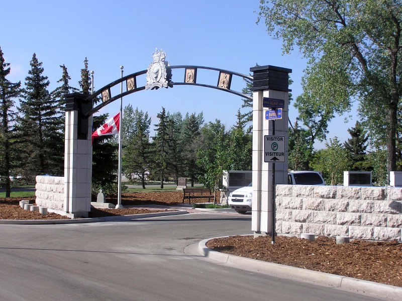"RCMP ""Depot"" Cemetery Entry"